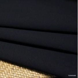Двоен креп жоржет Valentino черен