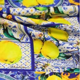 Коприна Dolce &Gabbana лимони