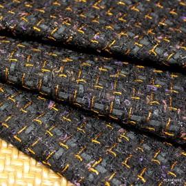 Букле Chanel черено  меден меланж