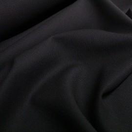 Студена вълна черна с еластан Hugo Boss