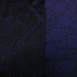 Жакард синьо-черен Louis Vuitton