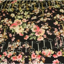 Ест. коприна атлас ключове Dolce&Gabbana