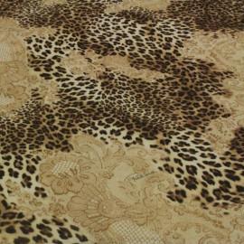 Ест. шифон леопард Roberto Cavalli