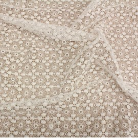 Дантела бяла памучна Scervino