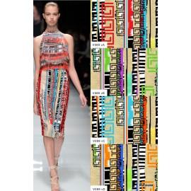 Естествена коприна Versace