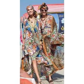 Коприна Dolce&Gabbana леопард