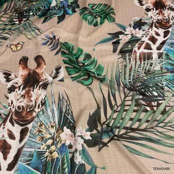 Шифон Dolce & Gabbana жираф