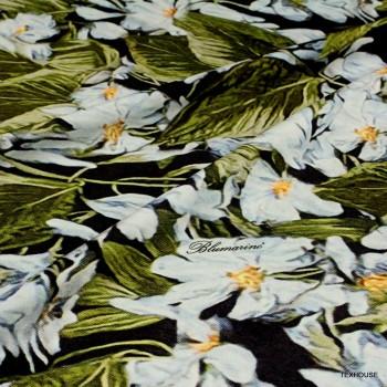 Коприна Blumarine сини цветя