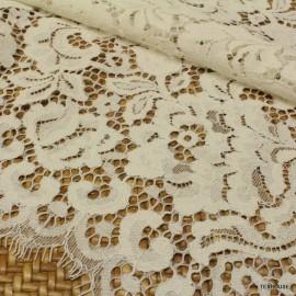 Дантела Dolce Gabbana натурално бяла