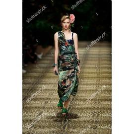 Шифон Dolce & Gabbana леопард