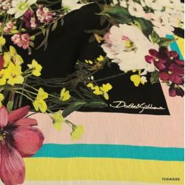 Шифон Dolce & Gabbana цветя