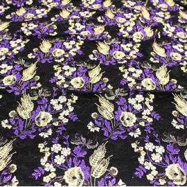 Дантела Burberry 3 D житни класове лилава