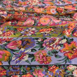Шифон Dolce&Gabbana принт с цветя на райе