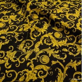 Коприна Versace златни фигури