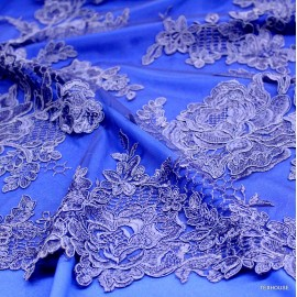 Дантела Dolce&Gabbana синя