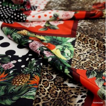 Коприна Dolce&Gabbana пачуърк