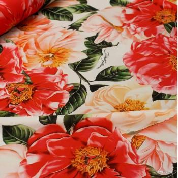 Коприна Dolce &Gabbana рози